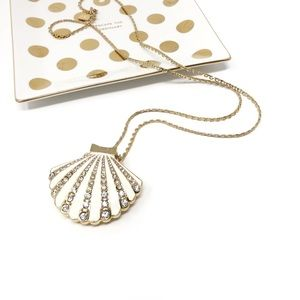 Kate Spade Shore Thing Clam Pendant Necklace